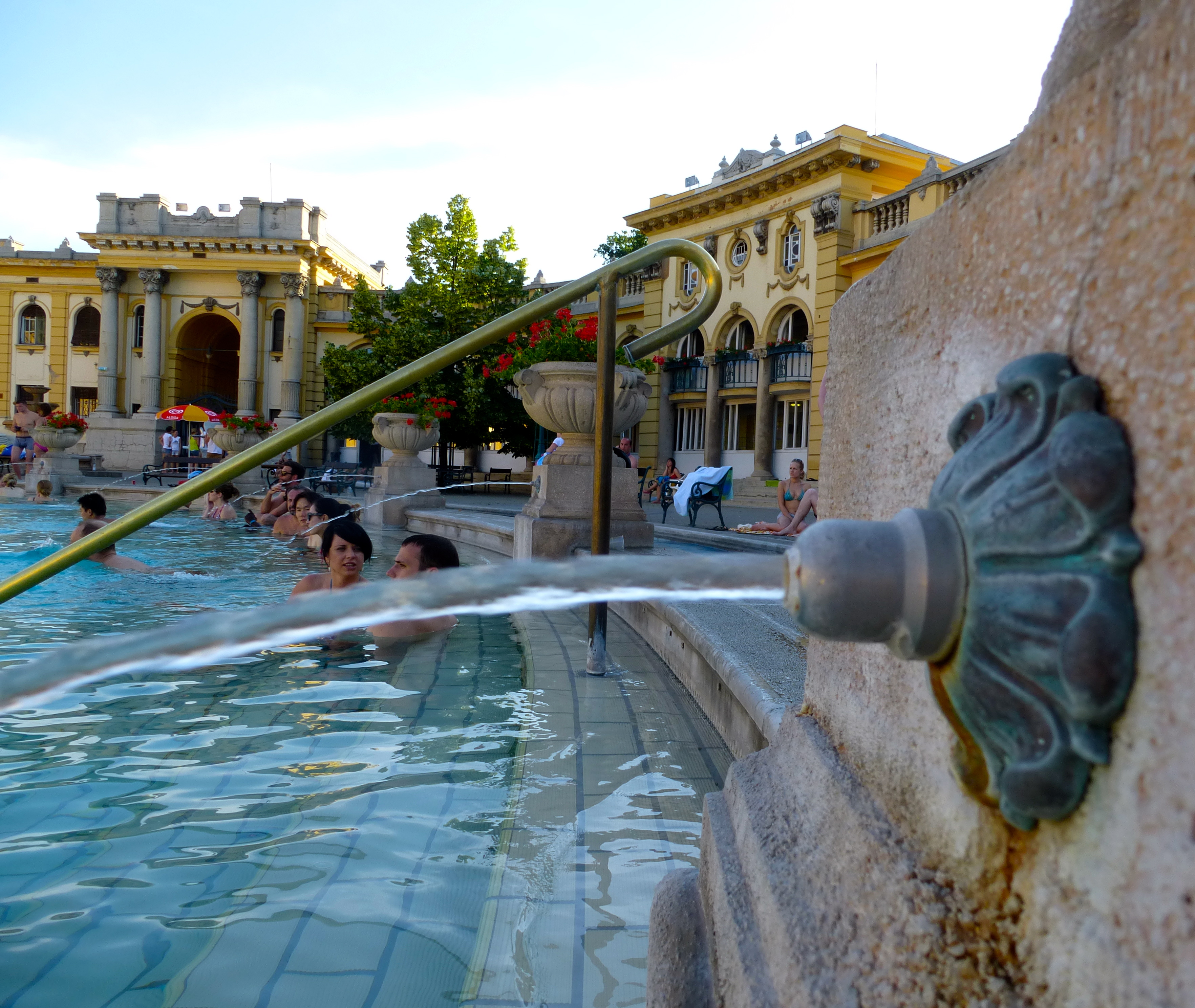 Széchenyi Baths: Don\'t Drink the Water! | An American in Budapest
