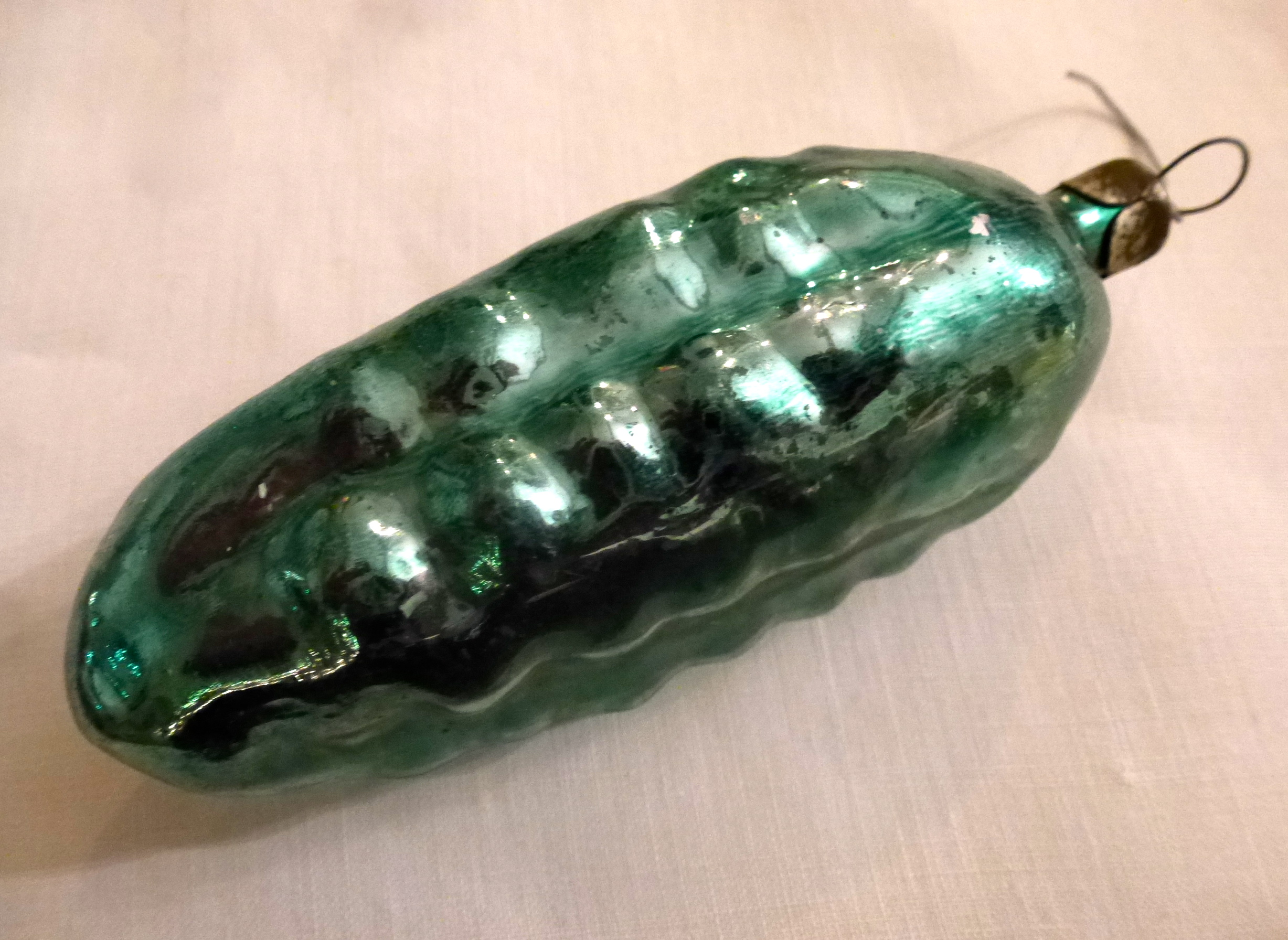 It Was Shaped Like A Pickle I'd Never Seen A Pickle Ornament Before It  Made Sense To See One In Hungary Hungarians Love Their Pickles